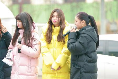 CLC MBC 쇼 음악중심 상암 재미있는 표정 모음