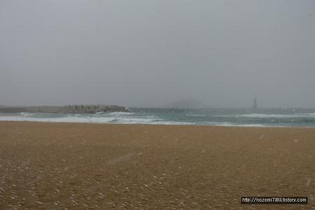 2019년 1월 31일 속초해변
