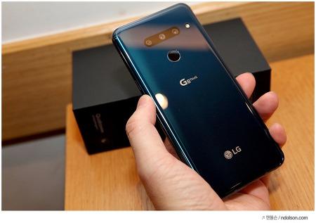 LG G8 ThinQ 언박싱 개봉기! 뉴 모르칸 블루 색상 잘뽑았다!