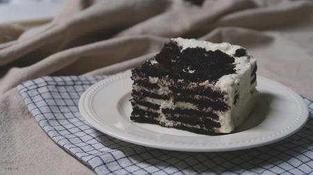 오븐 없이 만드는 케이크. 오레오 아이스 케이크 [동영상레시피]