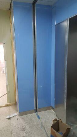 경기도 성남 무기질 방수보드 월패널 벽판넬 시공 사례