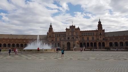 스페인 유럽여행 _ 세비야 대성당,스페인 광장,몬세라토,바르셀로나