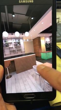 VR 투시도 제작 스마트폰 시연