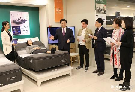 에몬스 가구 2019 상반기 품평회 '마음까지 편안하다'