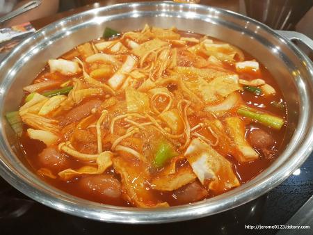 강서구 맛집 두끼 즉석떡볶이 무한리필 뷔페 마음껏 먹어라