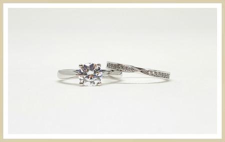 5캐럿다이아몬드 반지 독특하게 개성 뽐내기~