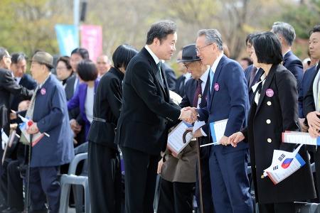 [2018-04-13] 제99주년 임시정부수립 기념식 이모저모