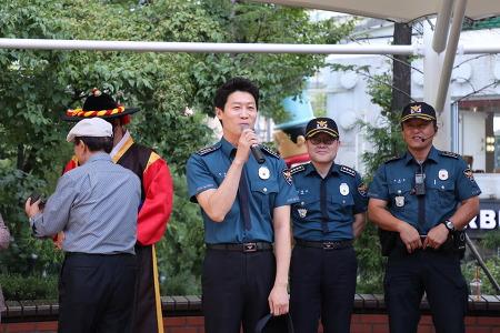 (마포) 영화배우'진선규'와 함께 하는 게릴라 탄력 순찰