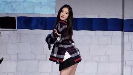 181124 대한민국 종교문화축제 오마이걸 아린 직캠 by 스피넬