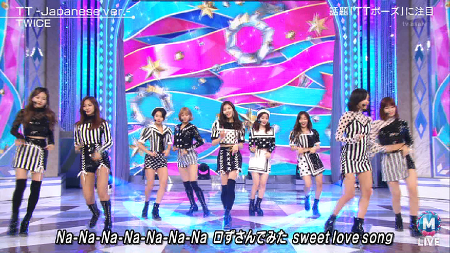 171222.テレビ朝日.MUSIC STATION SUPER LIVE 2017.TWICE - TT -Japanese ver