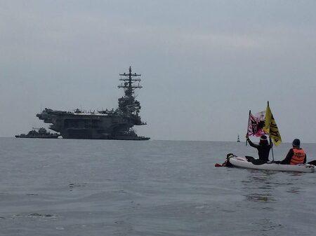 한반도 평화에 역행하는 국제관함식 부대행사 '호국 문예제' 개최를 규탄한다