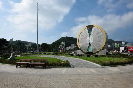 정동진 모래시계 공원