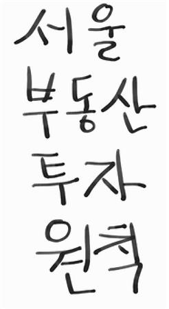 재테크 - 80. 서울 부동산 투자 원칙