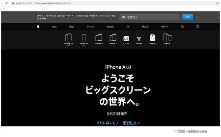 아이폰Xs Max 일본 프리오더 주문완료! 후쿠오카 픽업