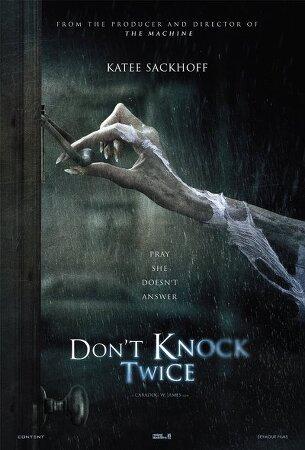 잘 표현된 공포영화 추천 노크소리가 두번 울릴때 ( Don't Knock Twice,2016)   스포있음