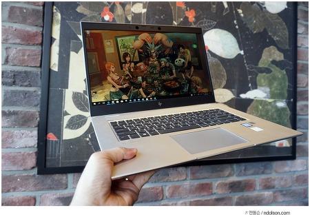 고사양 노트북 HP EliteBook 1050 G1, 데스크탑PC 맞먹는 i7 8750 노트북