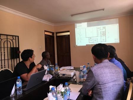 Presentation in Tanzania