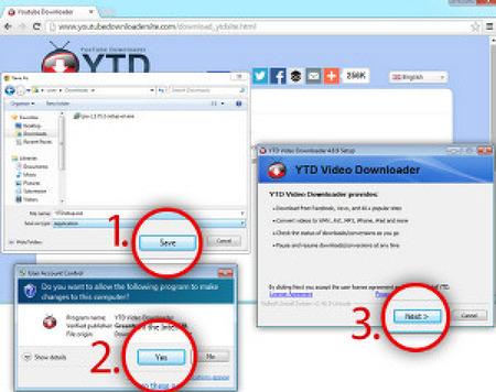 YTD Video Downloader v5.9.6 (유튜브/페이스북 동영상 다운로드)