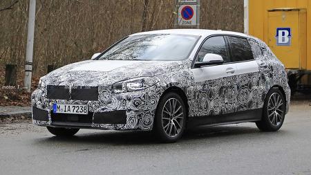 [Spyshot] 후륜 구동 버리고 실내 넓어지고 - 2020 BMW 1 Series