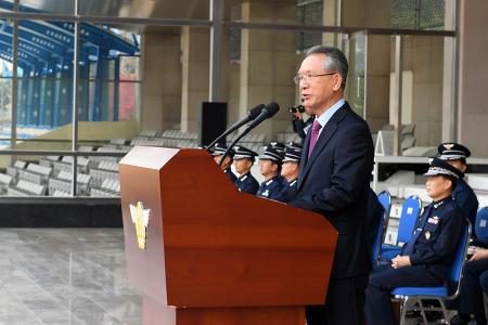 [2018-11-09 백범일지 독서감상문 대회 시상식] 공군사관학교