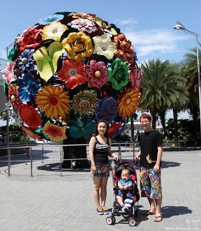 센토사에서 공짜트램타고 싱가포르 비보시티 푸드리퍼블릭 빅마켓 다녀오기