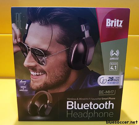 브리츠 블루투스 헤드폰 BE-MH7 기대 이상의 제품