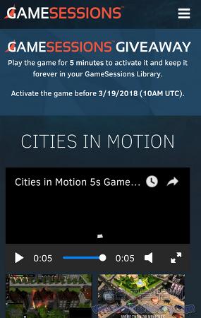 경영 시뮬레이션 게임-Cities in Motion(시티즈 인 모션)게임 프로모션