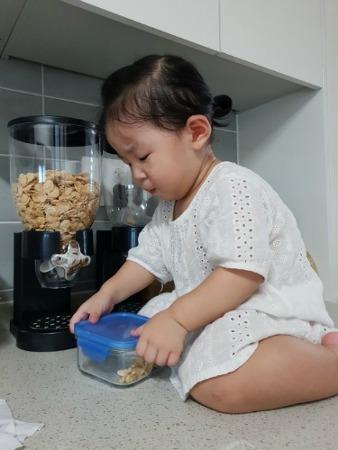 20개월 새 어린이집 적응하기.