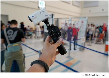 소니 4K 액션캠 들고 해외여행 준비, 소니 FDR-X3000 후기