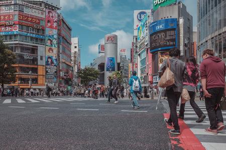 [도쿄] 시부야 스크램블드 교차로