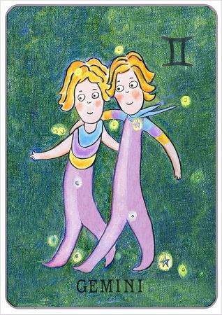 소통과 다재다능의 별자리, 쌍둥이자리