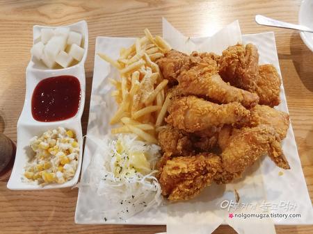 치킨명작 의정부 시청점. 바삭한 후라이드 치킨~ 의정부 치킨 맛집!