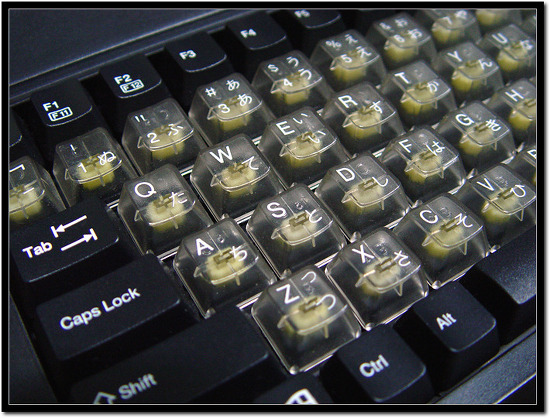 STRONG MAN SMK-85E :: FILCO Skeleton Keycap