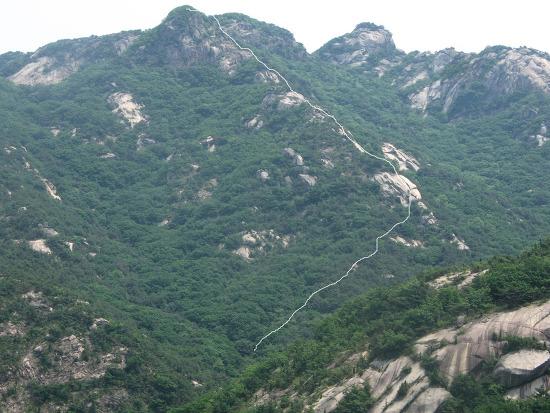 북한산등산코스: 삼각산의오지탐험 제19탄-나한능선
