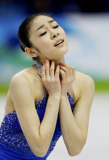 김연아의 아름다운 피겨가 울고 있다