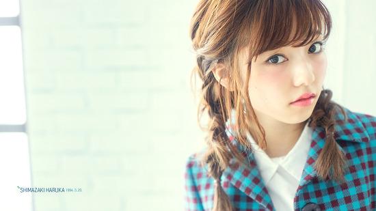 前 AKB48 시마자키 하루카 바탕화면(1920x1080)