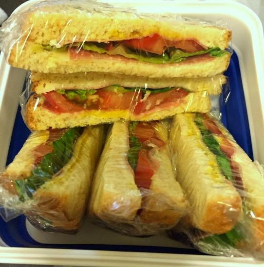 도시락 메뉴- 샌드위치.
