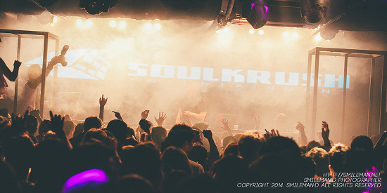 140628 SOUL KRUSH @ CLUB CAGE KOREA PART