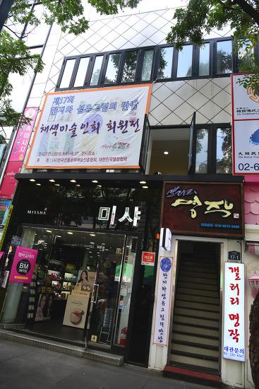 제17회 채색미술인회 회원전 2  - 동영상과 사진