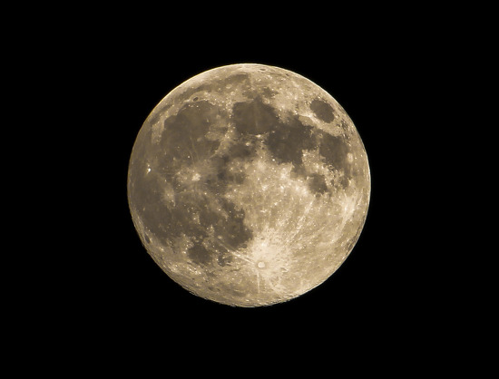 2014년 추석 보름달..