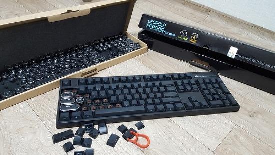 레오폴드 FC900R 키캡 개조기