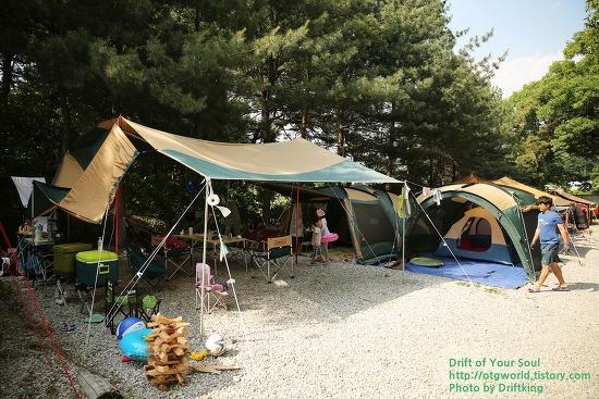 아이들을 위한 캠퍼의 선택, 용인힐링캠핑장