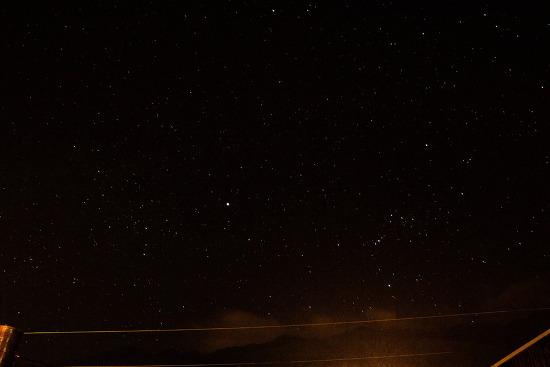중국 따리(大理-대리) 별이 쏟아지는 밤 하늘