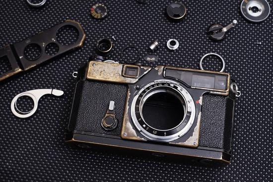 Nikon SP Original Black CLA 작업에 들어갑니다. -렌즈클리닝 의뢰 중단-