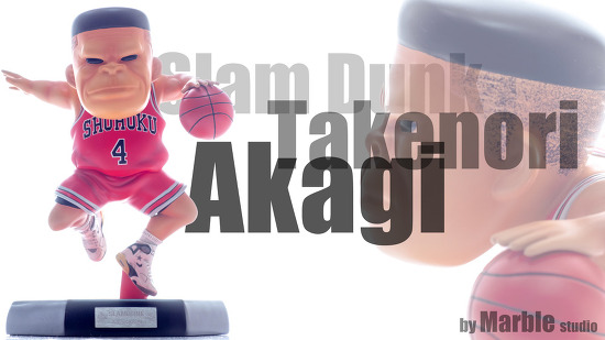 slam dunk takenori akagi by marble studio / 마블스튜디오 슬램덩크 채치수