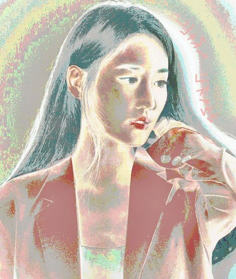[자작그림] 수현 (Claudia Kim) - 사진 편집 (Photo Editing)