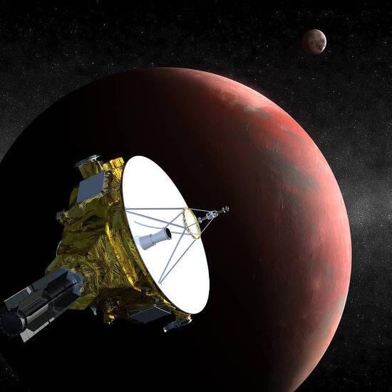 나사 관제탑에서 공개될 브라이언 메이의 신곡 '뉴허라이즌스(New Horizons)'