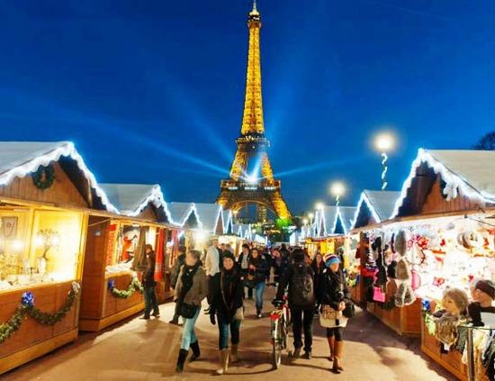 파리 겨울의 시작인 노엘시장, 튈르리 정원으로 귀환한다