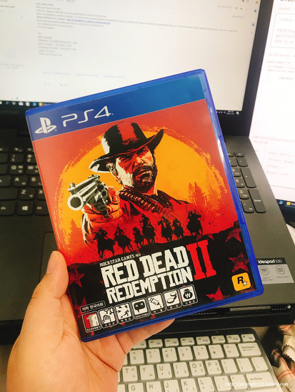 PS4 갓겜 레드 데드 리뎀션2 Red Dead Redemption2