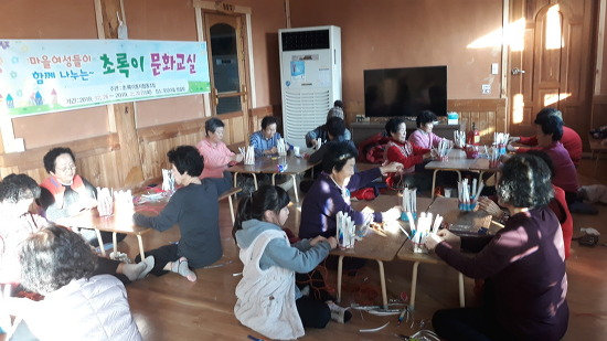 [마실통신 2월호] 마을 찜질방에서 문화교실 열다